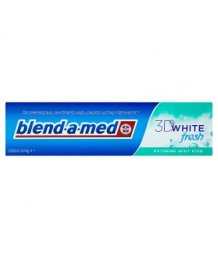Blend-A-Med 3D White Fresh Extreme Mint Kiss Fogkrém 100ml