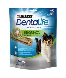 Dentalife jutalom falat kutyáknak 115g medium
