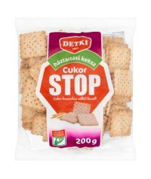 Detki Stop Cukor háztartási keksz 200g