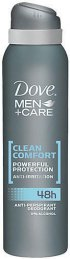 Dove férfi izzadásgátló deospray 150ml Men+Care Clean Comfort