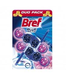 Bref Blue Aktív toalett frissítõ 2x50g Fresh Flowers