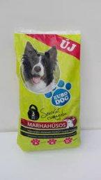 Euro Dog száraz kutyaeledel 3kg marha