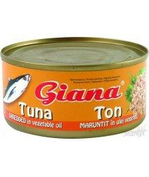 Giana aprított tonhal olajban 130gTT /185g