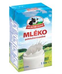 Mleko Pure UHT tej 1,5% 1l dobozos