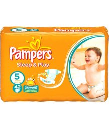 Pampers Sleep Junior 42 pelenka