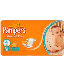 Pampers Sleep Maxi 50 pelenka