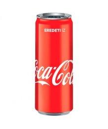 Coca Cola szénsavas üdítõ 0,33l dobozos