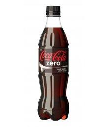 Coca Cola szénsavas üdítõ 0,5l Zero PET