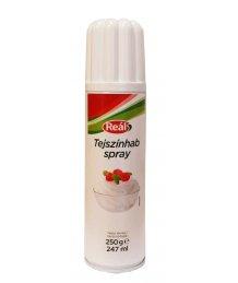 Reál Tejszínhab Spray Állati 250ml