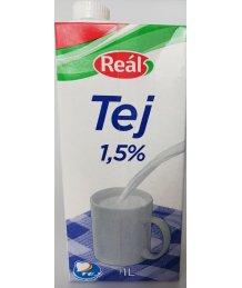Reál UHT tej 1,5% 1l dobozos