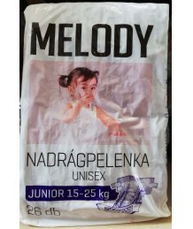 Reál Melody pelenka 26db junior 12-25kg
