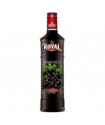 Royal vodka Feketeribizli 30% 0,5l