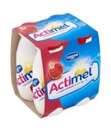 Danone Actimel joghurtital 4 x 100g gránátalma