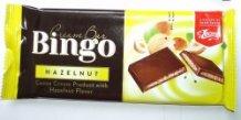 Bingo tejtábla 90g mogyorókrémes