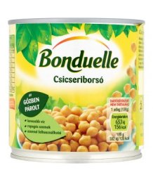 Bonduelle zöldségkonzerv csicseriborsó 400g