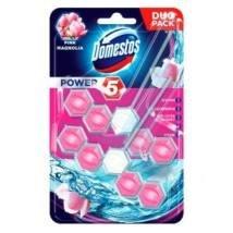 Domestos Power5 toalett frissítõ 2x55g pink magnolia illat