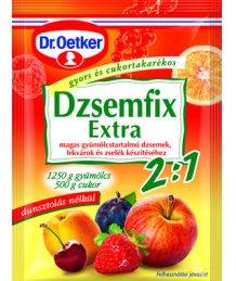 Dr. Oetker dzsemfix 2:1 25g extra
