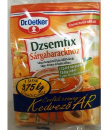 Dr. Oetker dzsemfix 3*20g sárgabarack