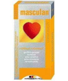 Masculan-3 sárga gumióvszer 10db