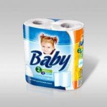 Baby kéztörlõ 2 tekercses 2 rétegû /Coala