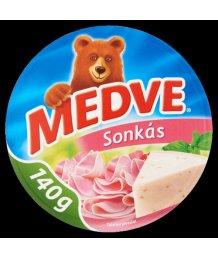 Medve ömlesztett sajt 140g sonkás