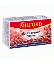 Milford tea 20 filter feketeribizli-cseresznye