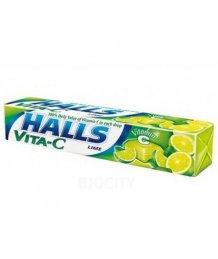 Halls cukorka 33,5g vita-C