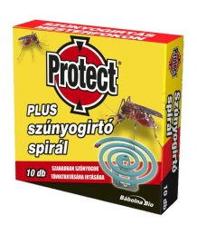 Protect plus szúnyogírtó spirál 10db