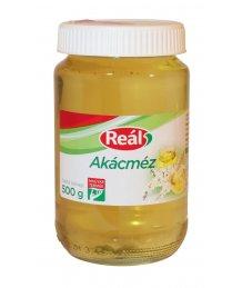 Reál akác méz 500g üveges