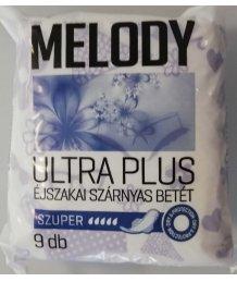 Reál Melody egszségügyi betét 9db Ultra+ Super
