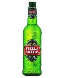 Stella Artois alkoholmentes üveges sör 0,5l+üveg