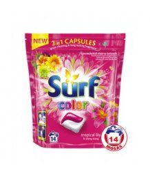 Surf mosókapszula 14 db Color Trop Ylang DUO