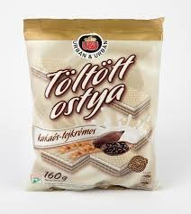 Urbán nápolyi 160g kakaós-tejkrémes