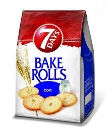 Bake Rolls kenyérchips 80g natúr