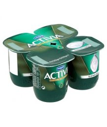 Danone Activia 4 x 125 g krémes natúr joghurt