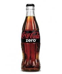 Coca Cola szénsavas üdítõ 0,25l Zero üveges