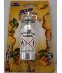 Mattes aeroszolos mini toalett frissítõ spray út.15ml citom