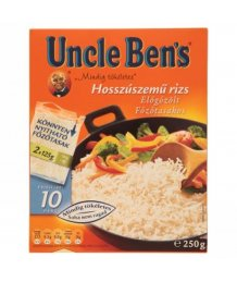 Uncle Ben's fõzõtasakos rizs 250g
