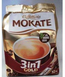 Mokate Gold 3:1 instant kávé 10 *18g barnacukorral
