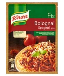 Knorr alap 59g Bolognai spagetti