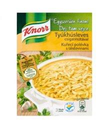 Knorr por leves 40/52g tyúkhús csigatésztával