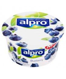 Alpro szójás gyümölcsjoghurt 150g kék áfonya