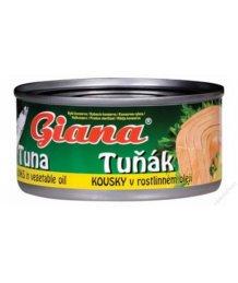 Giana aprított tonhal saját levében 130g