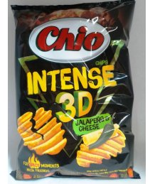 Chio chips 65g Intense 3D Jalapeno