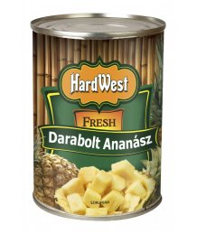 Hard West darabolt ananász konzerv 340gTT