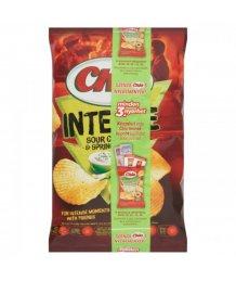 Chio chips 65g Intense hagymás tejfölös
