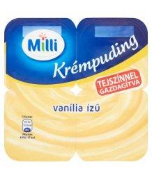 Milli krémpuding 4*125g vanília