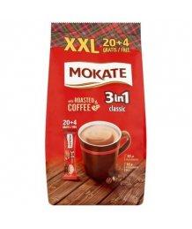 Mokate 3:1 instant kávé XXL (20+4)*17g barnacukorral