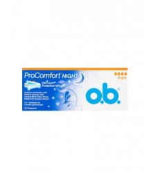 O.B. tampon 16db ProComfort night super+