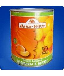 Hard West õszibarack konzerv 480gTT